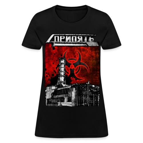 Pripyat Reactor - Women's T-Shirt