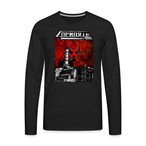 Pripyat Reactor - Men's Premium Long Sleeve T-Shirt
