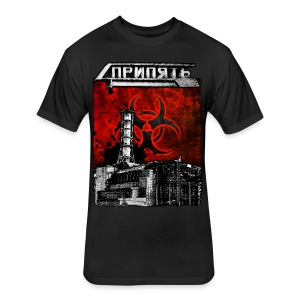 Pripyat Reactor - Fitted Cotton/Poly T-Shirt by Next Level