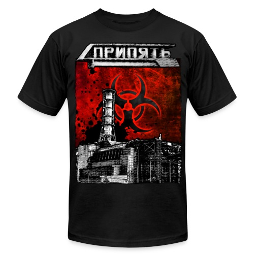 Pripyat Reactor - Men's Fine Jersey T-Shirt