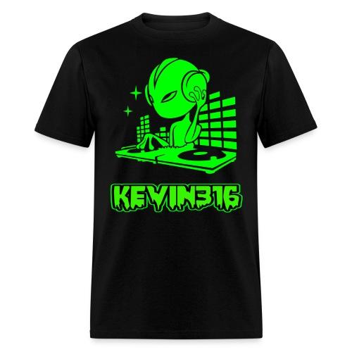 Kevin316 Men's Alien Dj T-Shirt - Men's T-Shirt