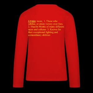 Lohan School Lion Dance   - Lohan Lion Dance Troupe - Kids' Premium Long Sleeve T-Shirt