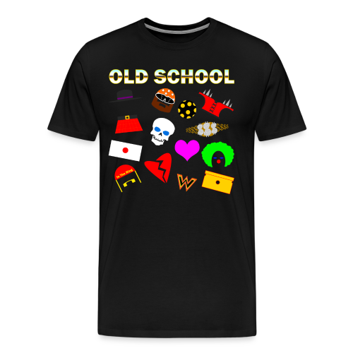 *Sz 5XL* -Old School In The Ring T-Shirt - Men's Premium T-Shirt