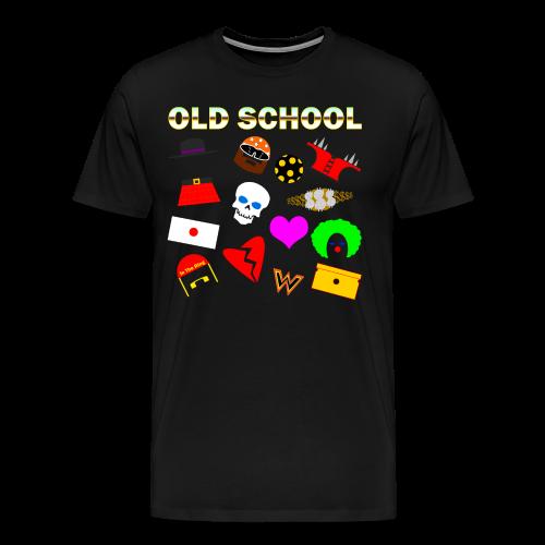 *Sz 5XL* -Old School In The Ring T-Shirt - Men's Premium T-Shirt