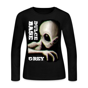 Dulce Base Grey - Women's Long Sleeve Jersey T-Shirt