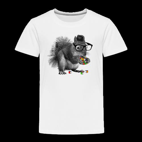 Rubik's Cube Squirrel - Toddler Premium T-Shirt