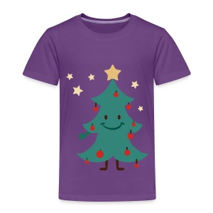 Funny Christmas Tree - Toddler Premium T-Shirt