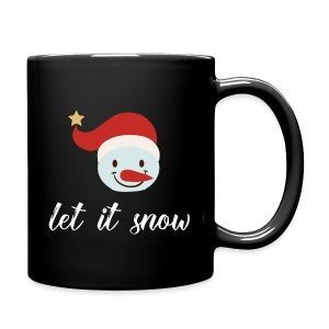 Let it snow - It's Christmas  - Full Color Mug