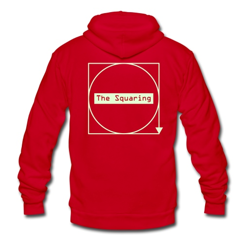 #TheSquaring HQ. Edition - Unisex Fleece Zip Hoodie
