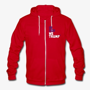 GOD, TRUMP & FAITH - Unisex Fleece Zip Hoodie