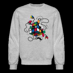 Rubik's Cube Illustration - Crewneck Sweatshirt