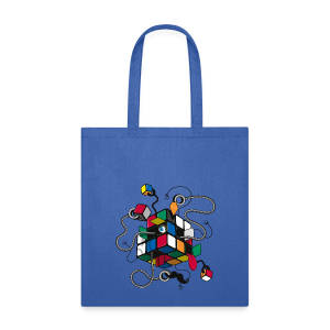 Rubik's Cube Illustration - Tote Bag