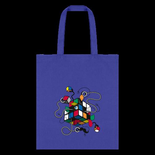 Rubik's Cube Illustration - Tote Bag