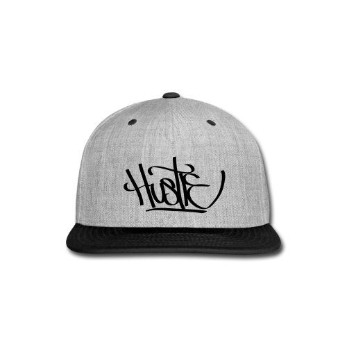 HUSTLE Snap-Back - Snap-back Baseball Cap