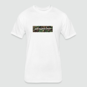 Men's Fitted Camo ExplorerNation Tee - Fitted Cotton/Poly T-Shirt by Next Level