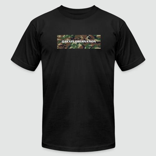 Men's American Apparel Camo ExplorerNation Tee - Men's Fine Jersey T-Shirt
