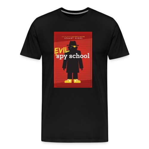 Evil Spy School - Men's Size - Men's Premium T-Shirt