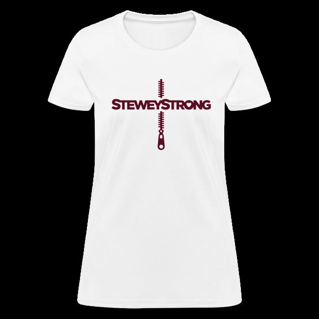 6ea21f5ee Stewey Strong | SteweyStrong - Womens - Maroon Print - Womens T-Shirt