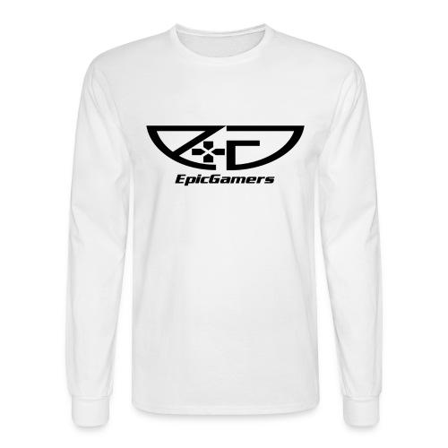 EpicGamers Standard Long Sleeve (Black Font) - Men's Long Sleeve T-Shirt