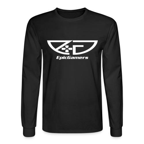 EpicGamers Standard Long Sleeve (White Font) - Men's Long Sleeve T-Shirt