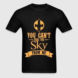 Browncoat - You can't take the sky from me - Men's T-Shirt