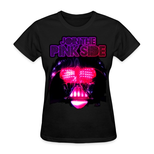 Pink Side - Women's T-Shirt