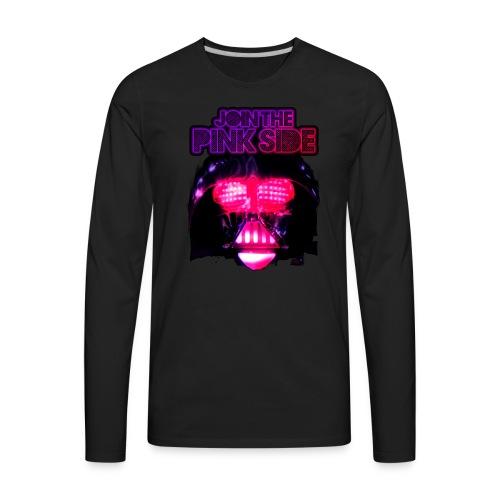 Pink Side - Men's Premium Long Sleeve T-Shirt