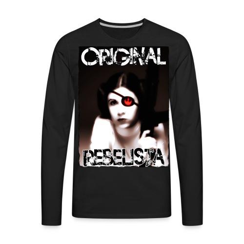Original Rebelista - Men's Premium Long Sleeve T-Shirt