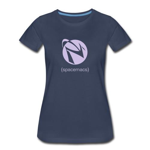 Spacemacs Classic - Women's Premium T-Shirt