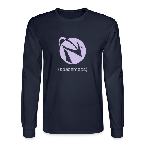 Spacemacs Classic - Men's Long Sleeve T-Shirt