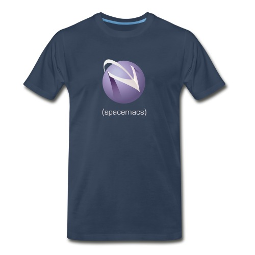 Spacemacs Classic Full Color - Men's Premium T-Shirt