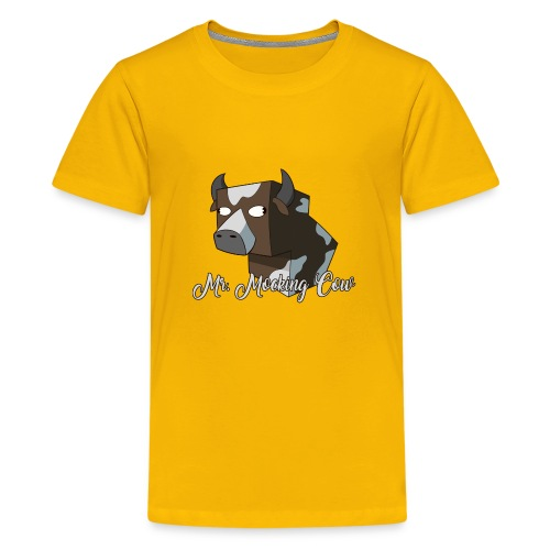 Mr. Mocking Cow - Kids' Premium T-Shirt