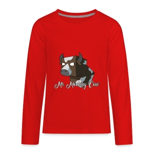 Mr. Mocking Cow - Kids' Premium Long Sleeve T-Shirt