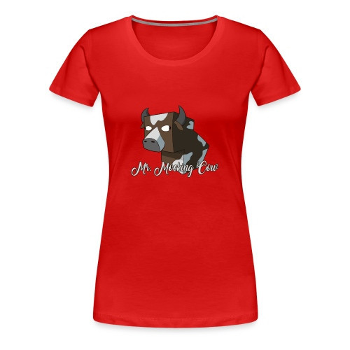 Mr. Mocking Cow - Women's Premium T-Shirt
