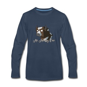 Mr. Mocking Cow - Men's Premium Long Sleeve T-Shirt