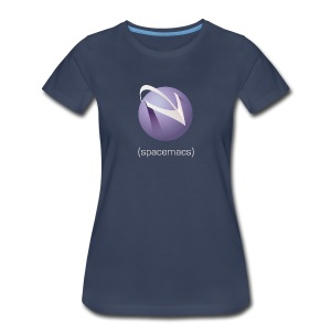 Spacemacs Classic Full Color - Women's Premium T-Shirt