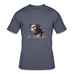 Mr. Mocking Cow - Men's 50/50 T-Shirt