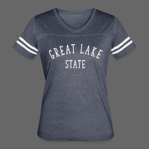 Great Lake State - Women's Vintage Sport T-Shirt