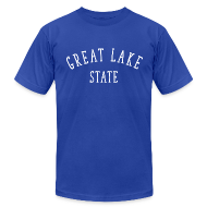 T-Shirts ~ Men's T-Shirt by American Apparel ~ Great Lake State