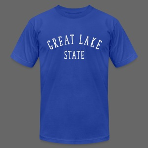 Great Lake State - Men's T-Shirt by American Apparel