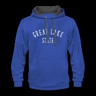 Hoodies ~ Contrast Hoodie ~ Great Lake State