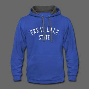 Great Lake State - Contrast Hoodie