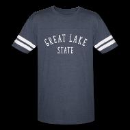 T-Shirts ~ Vintage Sport T-Shirt ~ Great Lake State