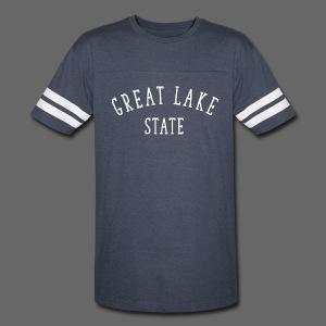 Great Lake State - Vintage Sport T-Shirt