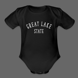 Great Lake State - Short Sleeve Baby Bodysuit