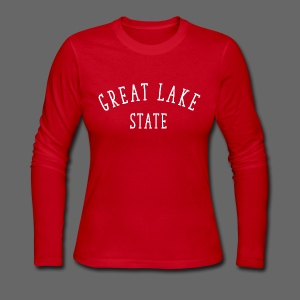 Great Lake State - Women's Long Sleeve Jersey T-Shirt