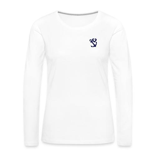HEART AND ANCHOR - Women's Premium Long Sleeve T-Shirt