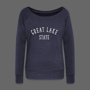 Great Lake State - Women's Wideneck Sweatshirt