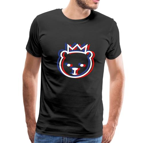 Berlin Bear 3D - Men's Premium T-Shirt