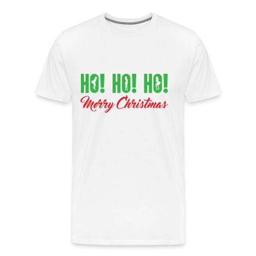 Ho! Ho! Ho! Merry Christmas - Men's Premium T-Shirt